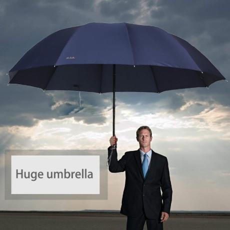 折りたたみ傘 メンズ レディース 大きい 丈夫 人気 安い 約130cm スーパービッグサイズ 選べる3色★