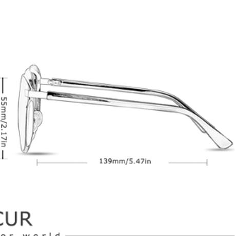 【BARCUR】 レディースサングラス キャットアイ 高級 偏光レンズ UV400 ポラロイド 軽量 ライブ ドライブ 運転 海 アウトドア 旅行 釣り 海外トップブランド 【選べる3色】