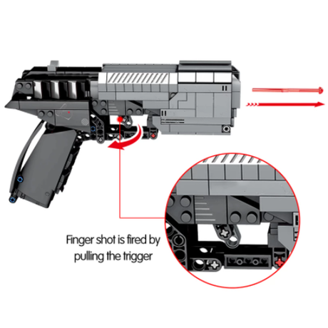 【レゴ】 撃てる銃 ピストル レゴ互換 男の子から人気 【ブロックセット】
