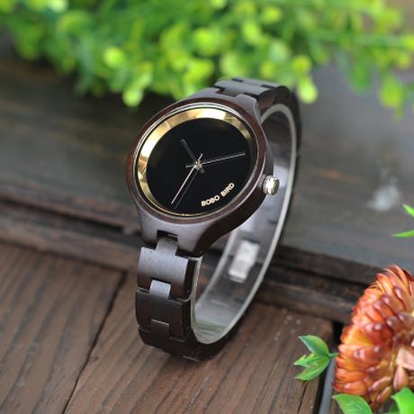 ボボバード レディース 木製腕時計 クォーツ 海外トップブランド BOBO BIRD 高級
