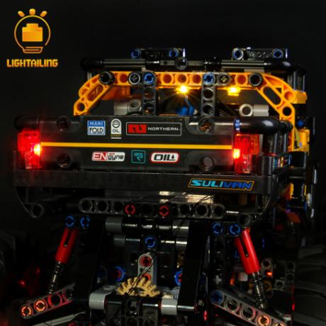 【LEDライトキット】 4x4 究極のオフローダー 42099 レゴ互換 【ライトアップセット】