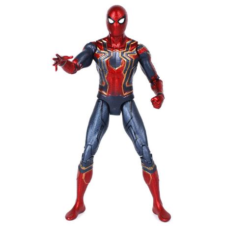 スパイダーマン 人形 アクションフィギュア 関節可動 グッズ 蜘蛛 アベンジャーズ 好きなポーズを決められる★
