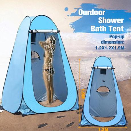 【プライバシーテント】一人用 簡単 ポップアップ コンパクト キャンプ ビーチ トイレ 避難所【防災】
