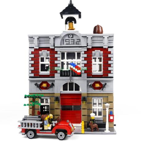 レゴ クリエイター 10197 ファイヤーブリゲード 互換 LEGO風