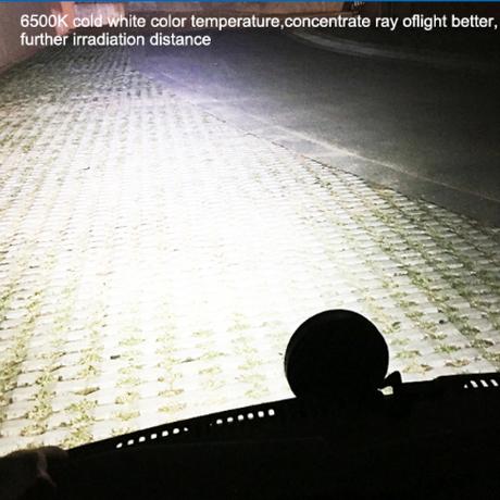 OKEEN ワークライト 車 LED 防水 IP67 4インチ 6500K 多用途 トラック 業務用 農業 ボート 取り付け簡単 48W 2個
