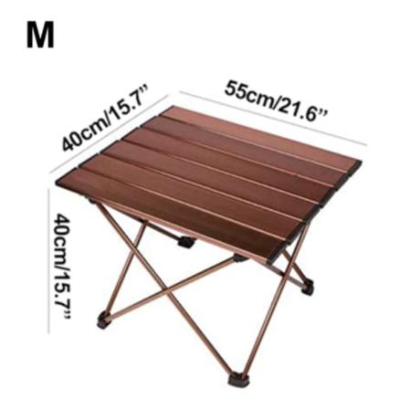 【Desert&Fox】テーブル 折りたたみ式 キャンプ 軽量 2サイズ アルミ合金【ポータブル】