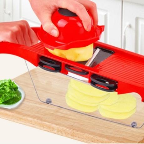 スライサー おすすめ 野菜カッター 手動 多機能 ポテトチップス 千切り みじん切り 薄切り ステンレス シュレッダー 野菜 洗いやすい 人気 家庭用 業務用にも 選べる4色