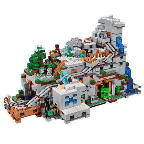 レゴ互換 マインクラフト 21137 山の洞窟 2932ピース