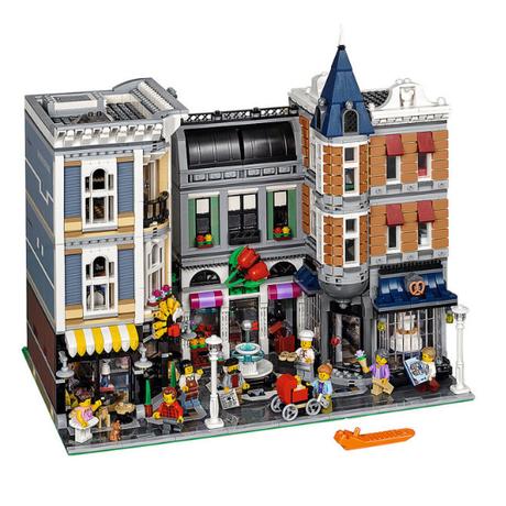 レゴ 10255 クリエイター アセンブリスクエア 互換品 4002ピース ブロック 建物 ビル レゴ風