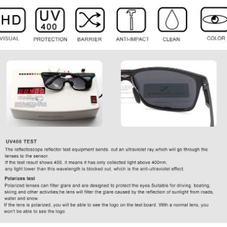 【N7180】 KINGSEVEN 2019 サングラス メンズ ポラロイド UV400 偏光レンズ 高品質アルミニウムフレーム 海外トップブランド 高級 人気 【選べる3色】