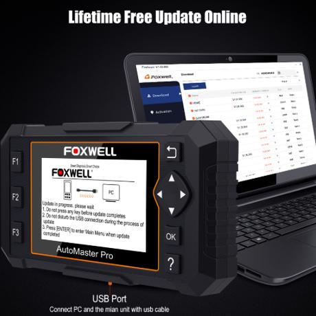 Foxwell NT624 エリート オールシステムスキャンツール OBD2 自動車 故障診断機 スキャナー 車 エンジン ABS