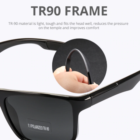【超軽量】 KDEAM TR90フレーム ユニセックス サングラス 偏光 KD101 鮮やか ポラロイド UV400 海外高級ブランド 男女兼用 高品質 【選べる3色】