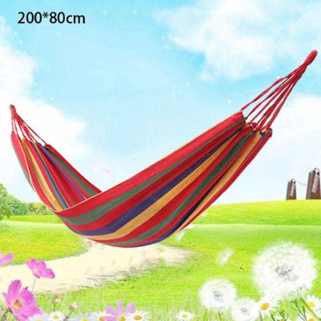 ハンモック 屋外 シングル ポータブル キャンプ アウトドア かわいい 選べる3色 自然と触れ合うのに最適★