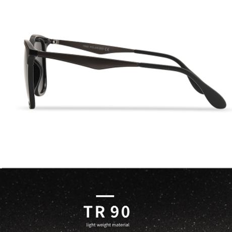 AOFLY サングラス 人気 偏光レンズ メンズ UV400 スクエア 男性 軽量 おしゃれ 海外トップブランド 旅行 ドライブ 運転 ビーチ 海 自転車 選べる4色★