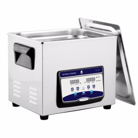 SKYMEN 10L 超音波洗浄機 大型 強力 40Khz 業務用 産業用 家庭用 時計 ベルト メガネ 入れ歯 アクセサリー 人気 おすすめ 超音波 クリーナー