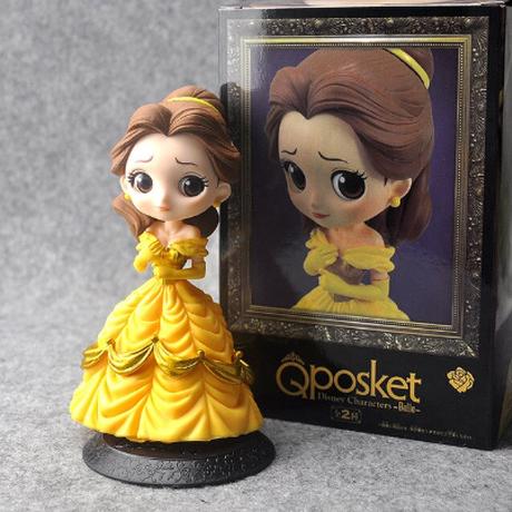 ベル フィギュア 美女と野獣 完成品 人形 おもちゃ グッズ かわいい 約12cm PVC製 ディズニープリンセス