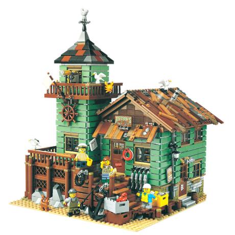 レゴ 21310 つり具屋 レトロ 互換 アイデア LEGO風