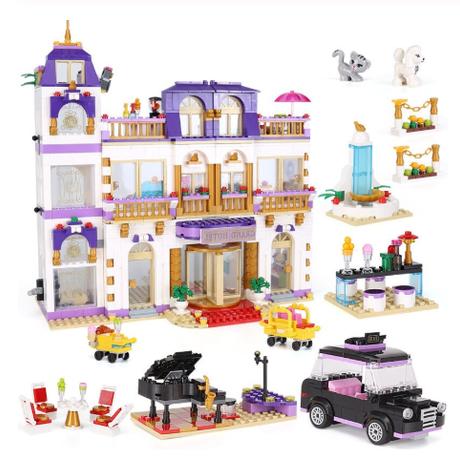 レゴ互換品 フレンズ ハートレイクホテル 41101 建物 ブロック 1676ピース LEGO風 誕生日 プレゼントにも