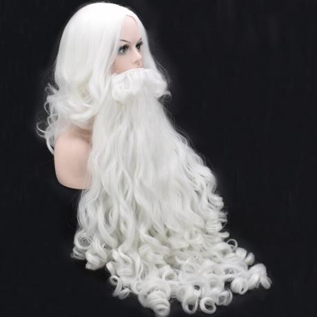 サンタ コスプレセット ひげ ウィッグ かつら サンタクロース クリスマス 仮装 変装 コスプレ パーティー 子供達から大人気 選べる2サイズ★