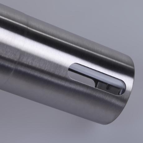 コーヒーミル 手動 横ハンドル コンパクト 持ち運び便利 ステンレス 高い耐久性 コーヒーグラインダー 小型 ミニ おしゃれ シルバー アウトドアにもおすすめ