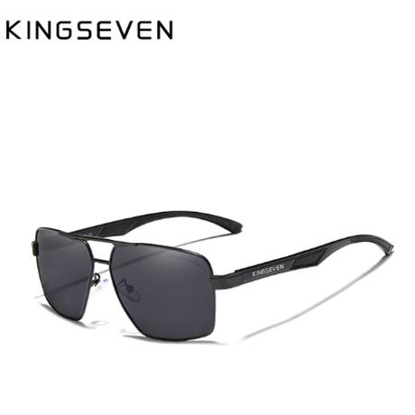 【KINGSEVEN】 UV400 メンズサングラス ポラロイド 軽量 偏光レンズ N7719 高品質アルミニウムフレーム 海外トップブランド 高級 おしゃれ 【選べる3色】