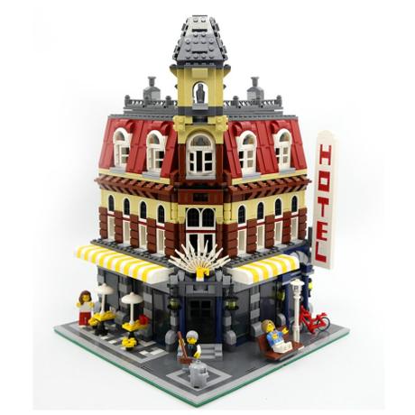 レゴ クリエイター 10182 カフェコーナー 互換品 2133ピース LEGO風 ブロック