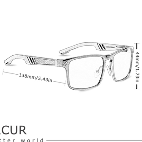【人気のスクエア】 BARCUR ユニセックス UV400 スポーツサングラス 偏光レンズ ポラロイド 高品質フレーム かっこいい  海外トップブランド 【選べる3色】