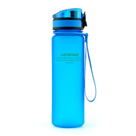 ウォーターボトル 650ml ヨガ スポーツ アウトドア ウォーキング 軽量 安全なプラスチック 洗いやすい 口が広い 漏れない グリーン ブルー ピンク