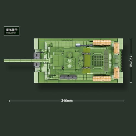 【レゴ互換】 ソビエト軍 T-34 中戦車 ミニフィグ+武器 豪華セット 第二次世界大戦 WW2 戦争 タンク 兵士 兵隊 LEGO風 【楽しみながら知育できる】