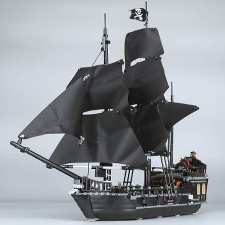 レゴ互換 ブラックパール号 パイレーツオブカリビアン 804ピース 海賊船 ブロックセット 入手困難