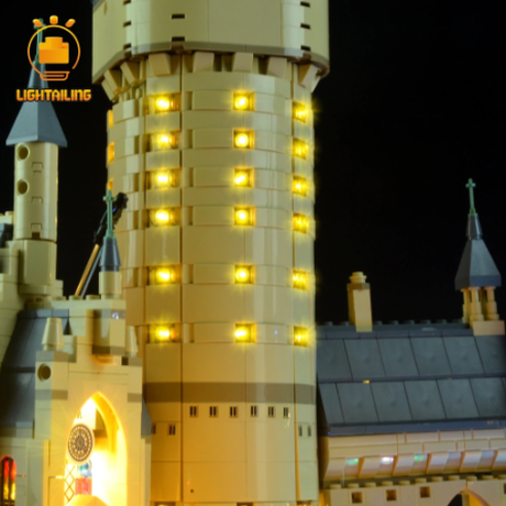 レゴ ハリーポッター ホグワーツ城 71043 互換 LEDライトキット バッテリーボックス ライトアップセット 大人気★