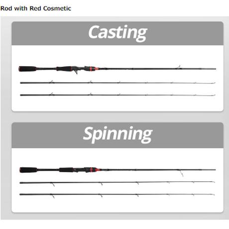 カストキング スピニングロッド KastKing ロッド ルアー 軽量 高耐久 カーボン 釣り フィッシング 海外 180cm-213cm 選べる3種類