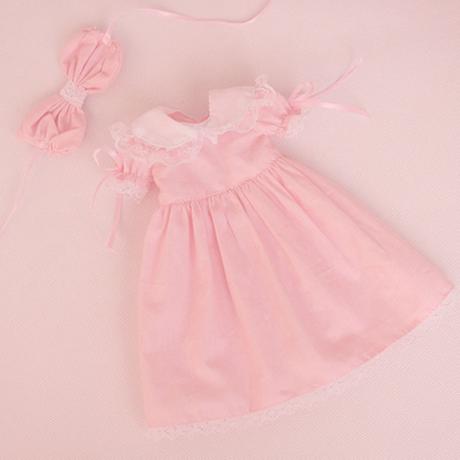 BJD 球体関節人形 かわいいドレス ピンク ドール衣装 カスタムドール 服 美しい 1/3 1/4 1/6 選べる3サイズ