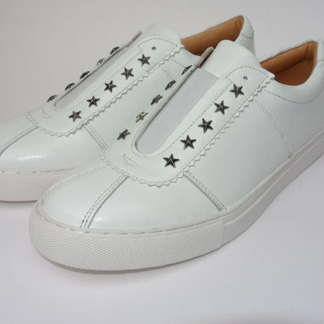 star studs slip-on WHITE