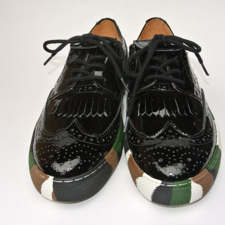 Wing Tip Camou Sole BLACK/E