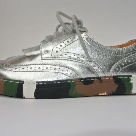 wing-tip camou sole SILVER