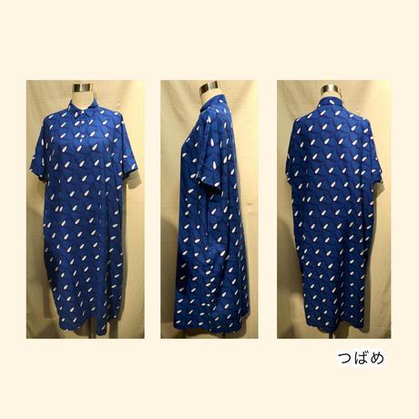青衣☆半袖ワンピース