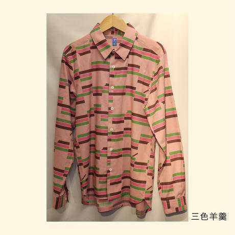 青衣☆ 長袖シャツ(メンズ対応)