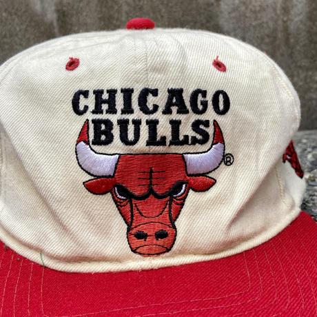 STARTER NBA CHICAGO BULLS/スターター シカゴブルズ スナップバックキャップ 90年代 (USED)