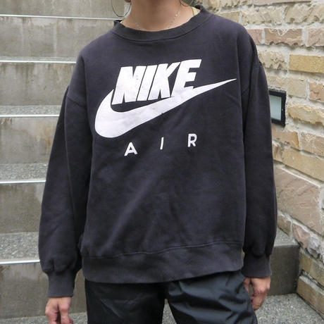 NIKE/ナイキ AIRロゴスウェット 90年前後銀タグ  (USED)