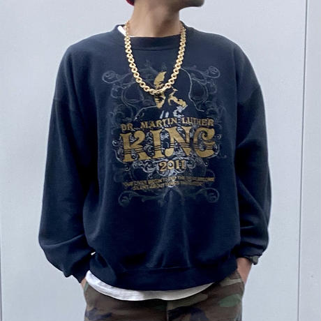 MARTIN LUTHER KING JR/マーチンルーサーキングジュニア スウェット 2011年 (USED)