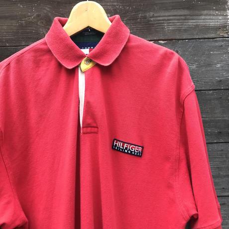 TOMMY HILFIGER/トミーヒルフィガーセイリングギアー  ポロシャツ 90年代 (USED)