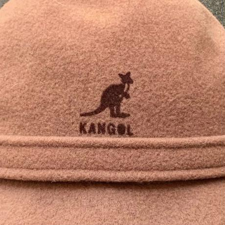 KANGOL/カンゴール PLAIN WOOL GROUSER  ハット 80~90年代 Made In ENGLAND (USED)