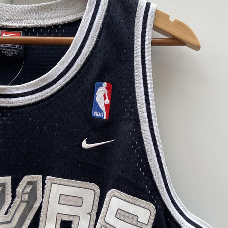 NIKE NBA SPURS/ナイキ サンアントニオスパーズ バスケットタンクトップ 21DUNCAN 2000年代 (USED)
