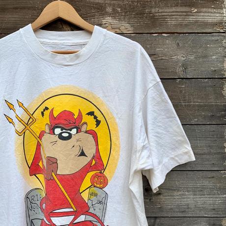 WARNER BROS./ワーナーブラザース ハロウィーンプリントTシャツ 1993年 (USED)