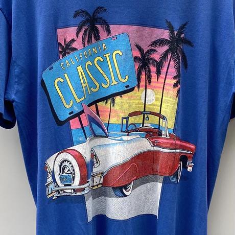 CALIFORNIA CLASSIC/カリフォルニアクラシック Tシャツ 91年 Made In USA (USED)