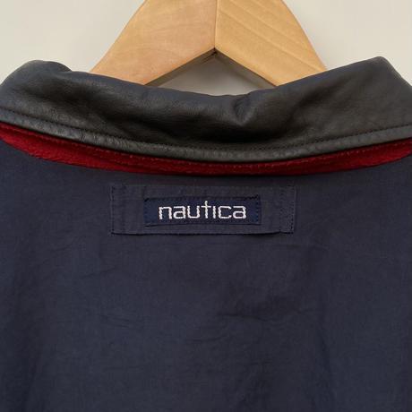 NAUTICA/ノーチカ フリース リバーシブルスウィングトップ 90年代 (USED)