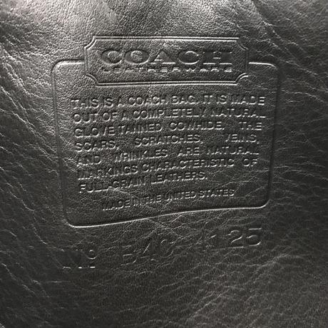 COACH/コーチ レザースモールショルダーポーチ 90年代 (USED)
