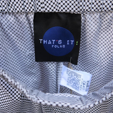 THAT'S IT FOLKS/ザッツイットフォークス ショートパンツ Made In ITALY (NEW)