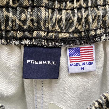FRESH JIVE/フレッシュジャイブ レオパード柄ショートパンツ 2000年代 (USED)